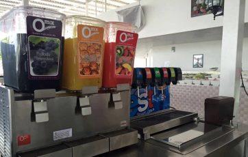 จุดบริการน้ำผลไม้ Omix